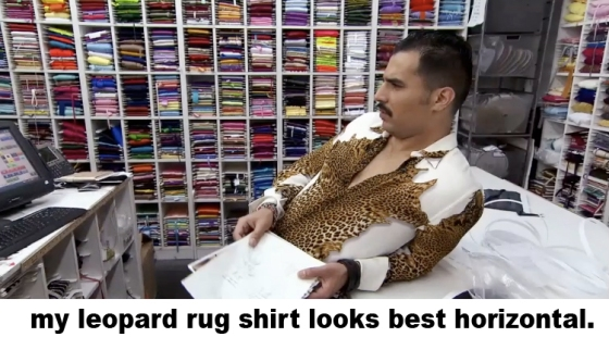 leopard shirt